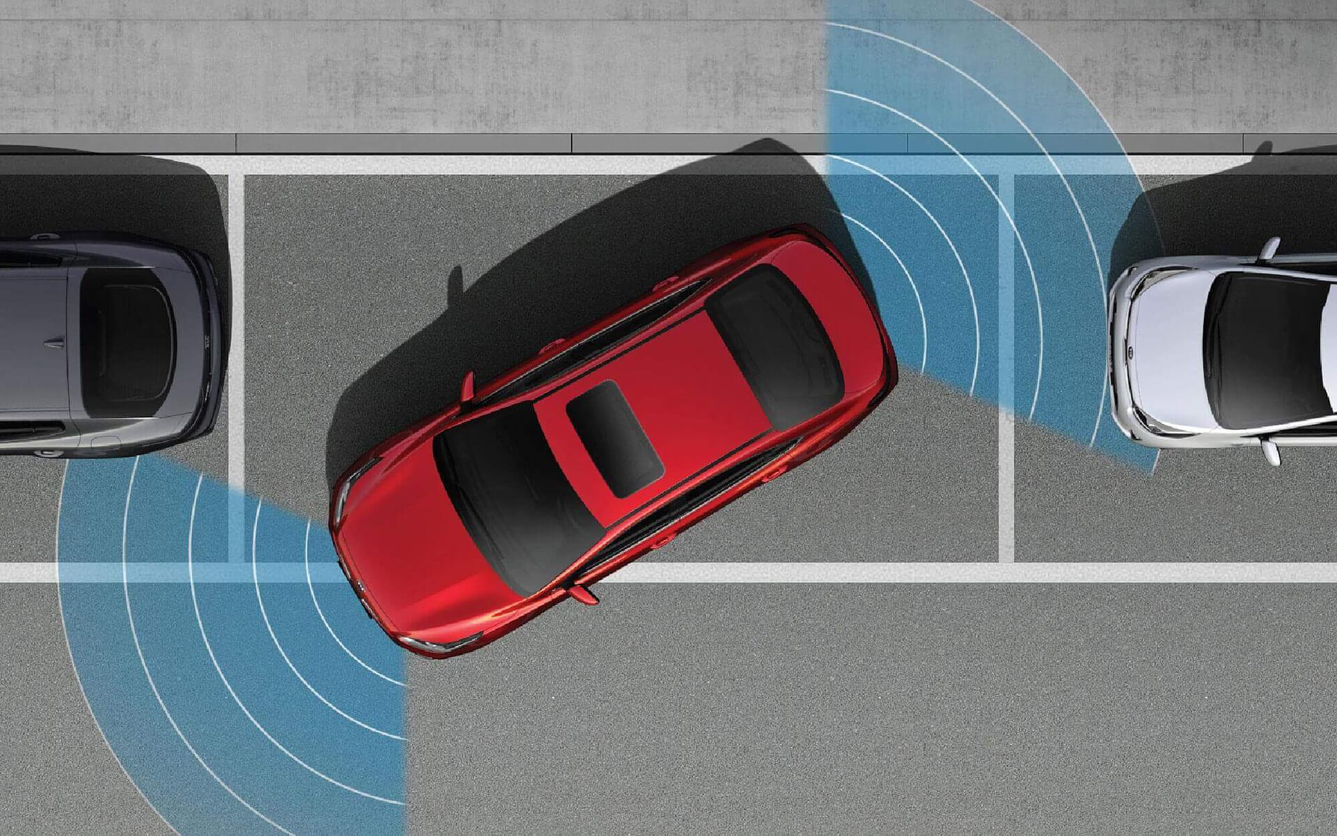 Cảm biến hỗ trợ đỗ xe trước sau
