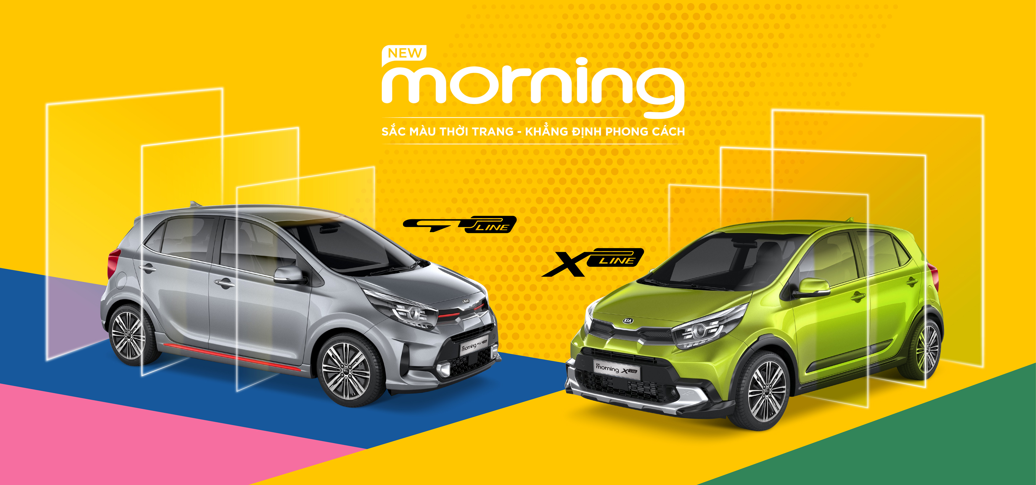 Thaco Giới Thiệu New Morning GT-Line & X-Line
