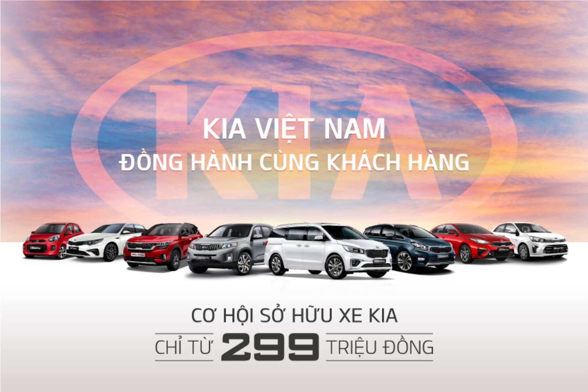 Kia Đồng Hành Cùng Khách Hàng, Thêm Quà Tặng Với Giá Bán Chỉ Từ 299 Triệu Đồng Trong Tháng 8